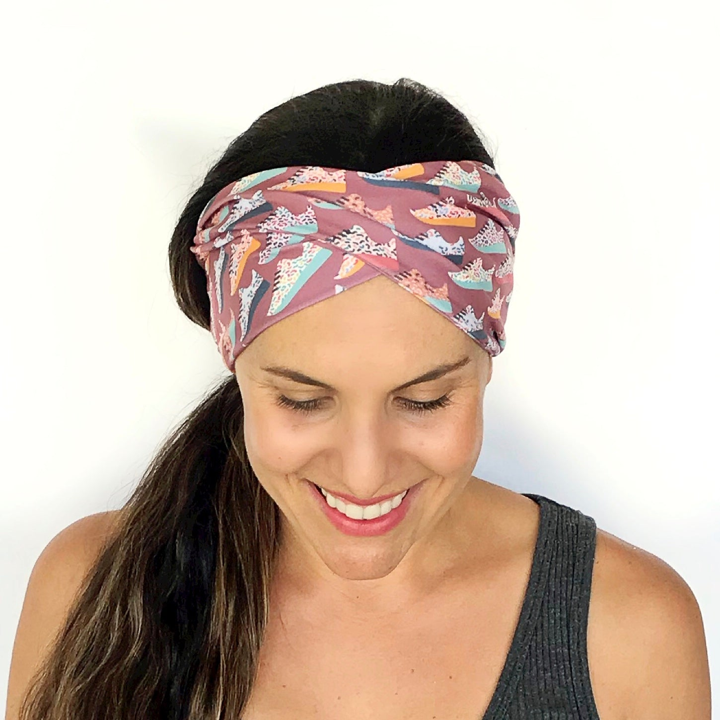Runner Girl Double Twist Headband