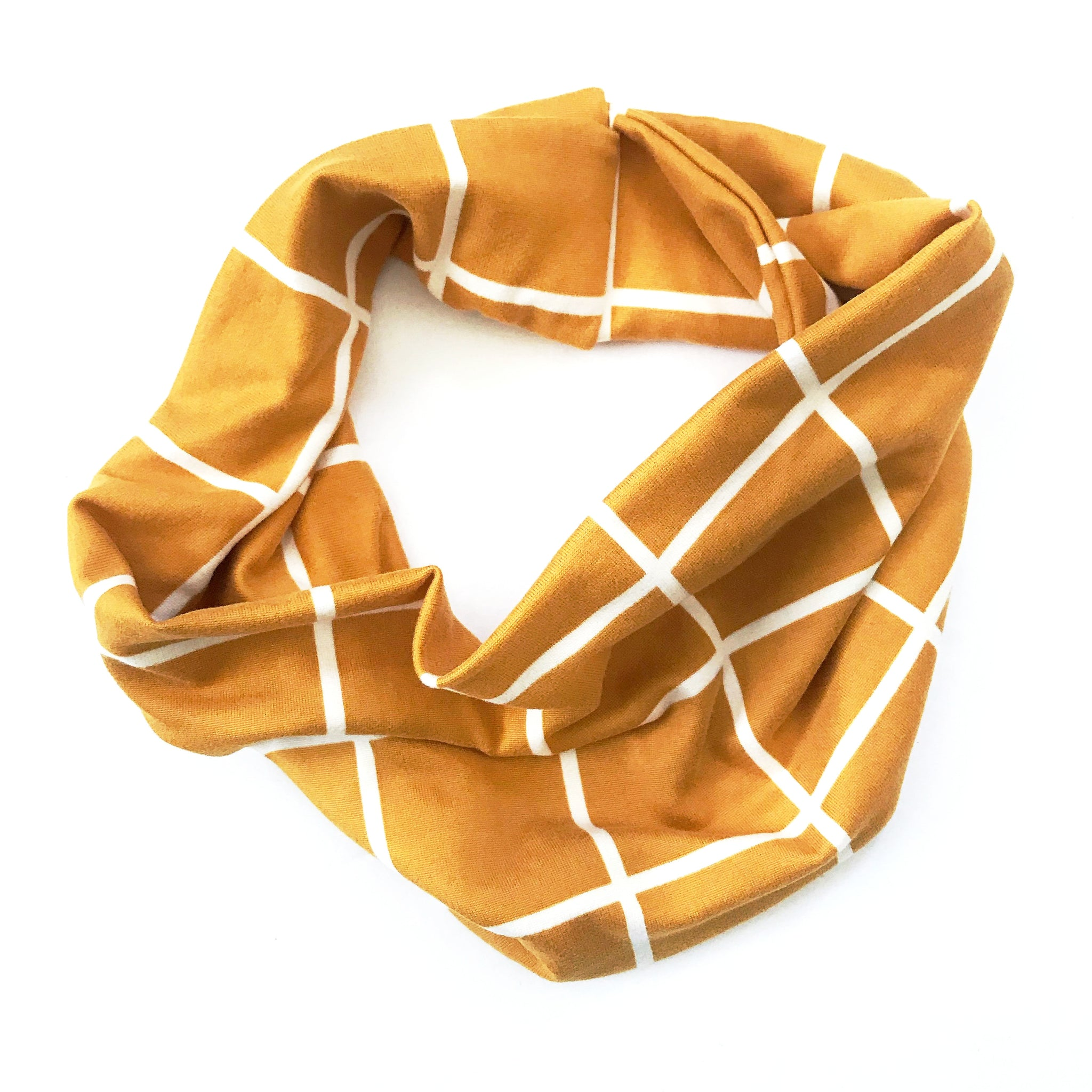 So Square Double Twist Headband