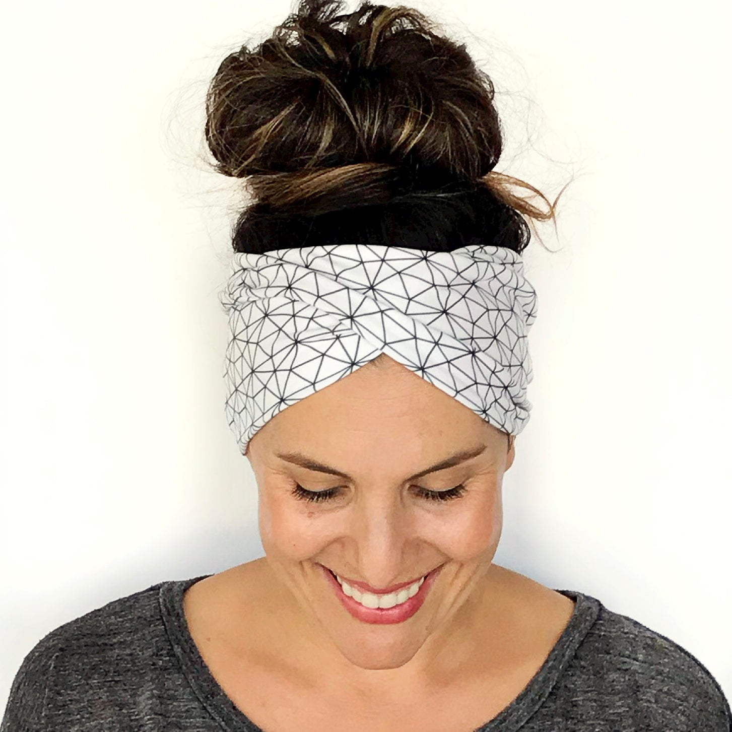 Metric Double Twist Headband