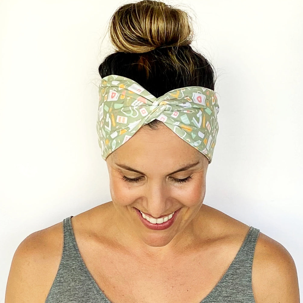 Medical Twisty Turban Headband