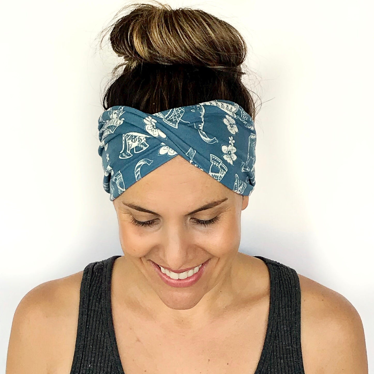 Elephant Double Twist Headband
