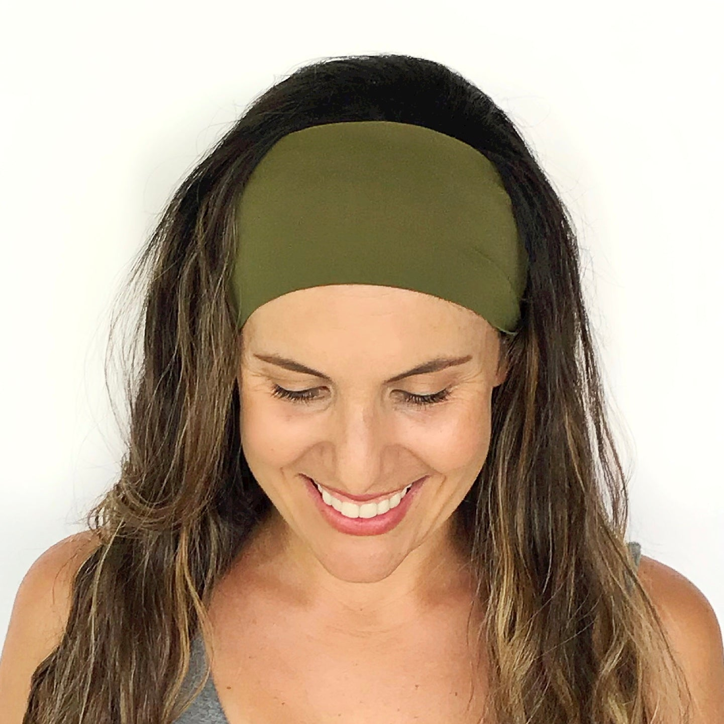 Olive Green Workout Headband