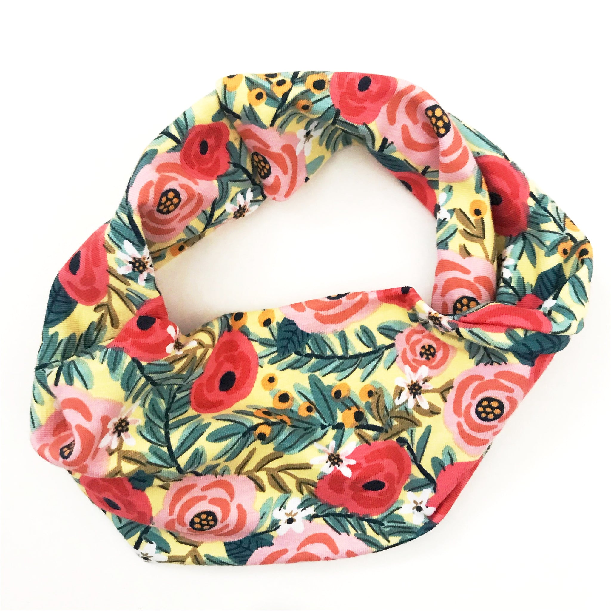 Abounding Flowers Double Twist Headband