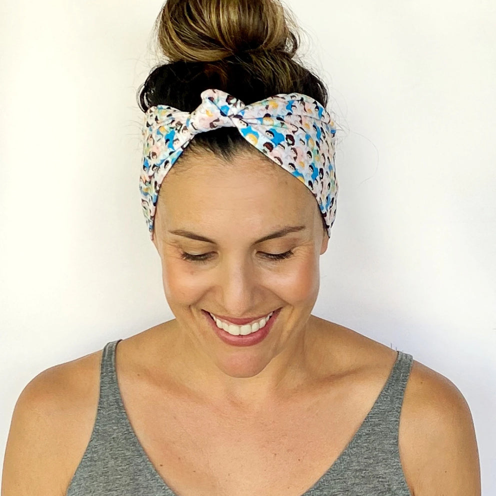 Mask Crew Knotted Headband