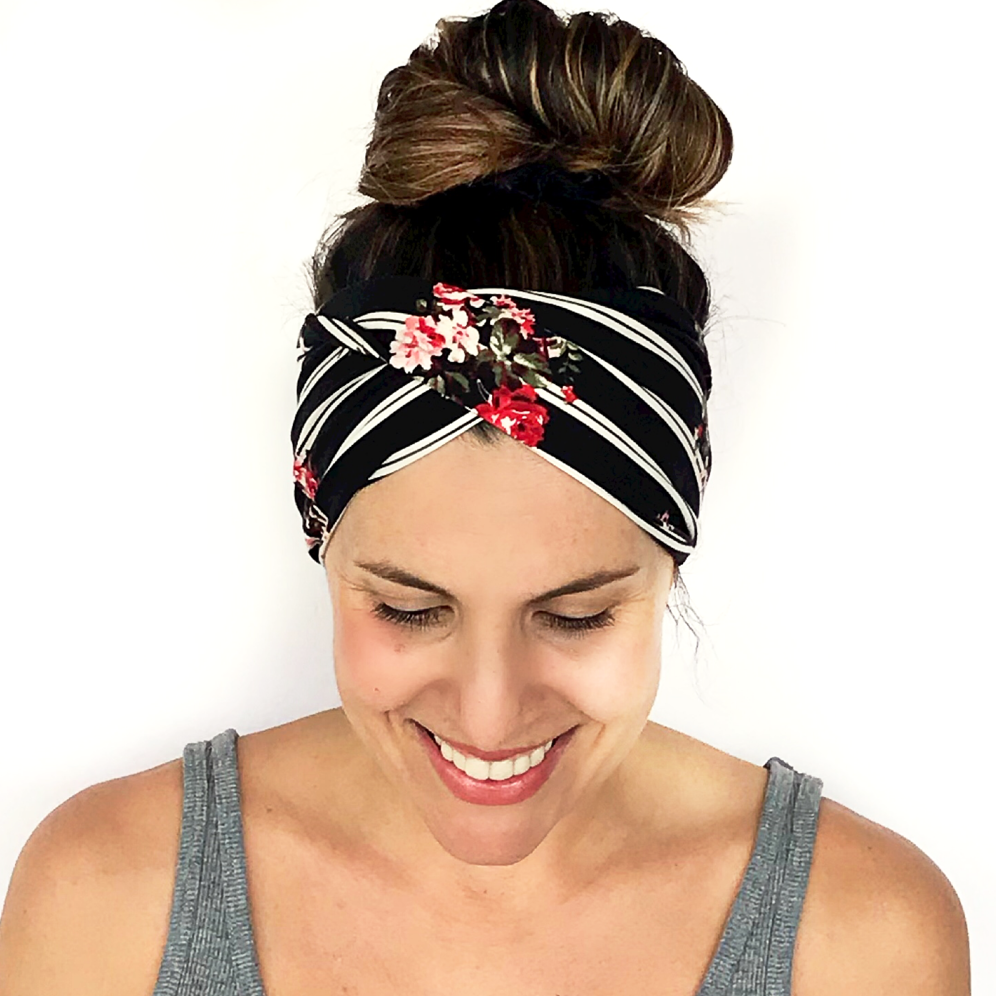 Spanish Night Double Twist Headband