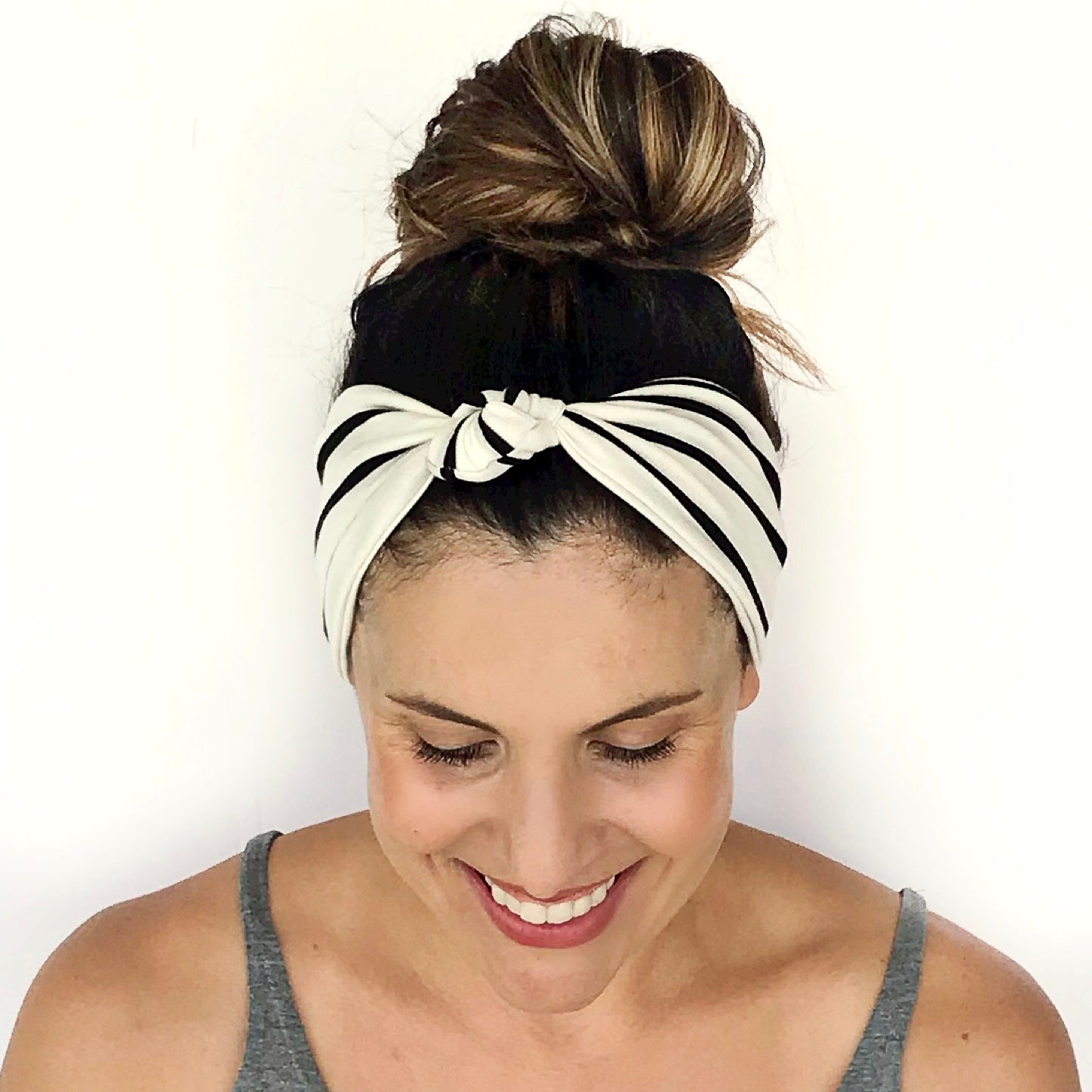 Bold Stripe Knotted Headband
