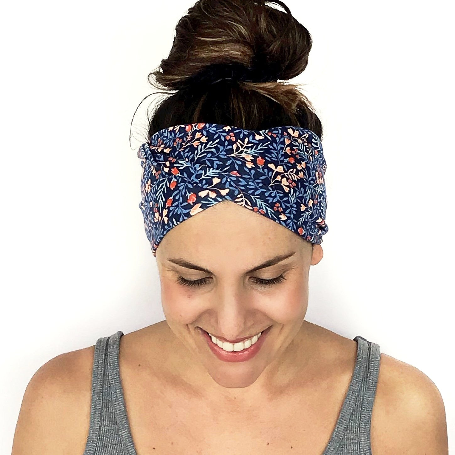 Spring Fling Double Twist Headband