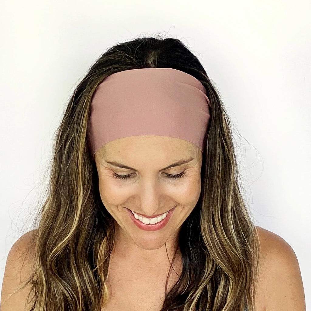 Dusty Mauve Workout Headband