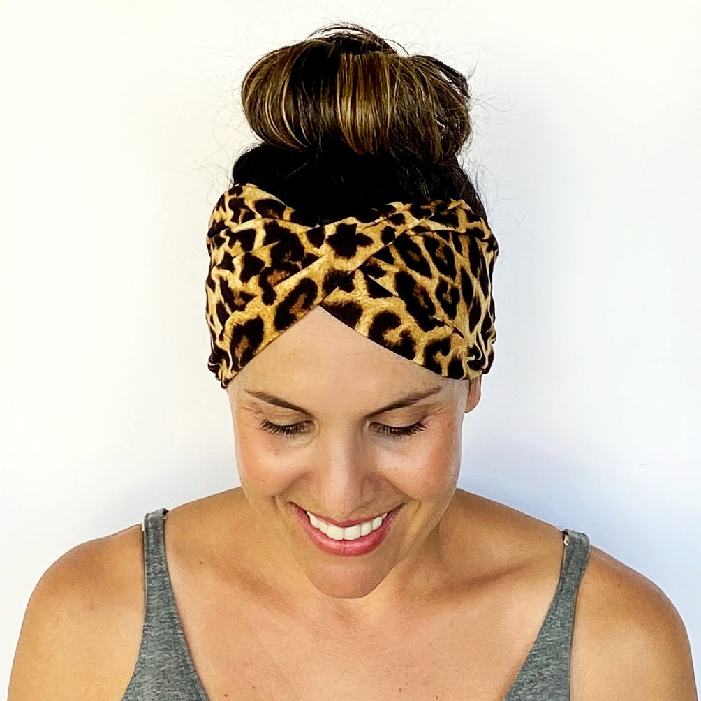 Gone Wild Double Twist Headband