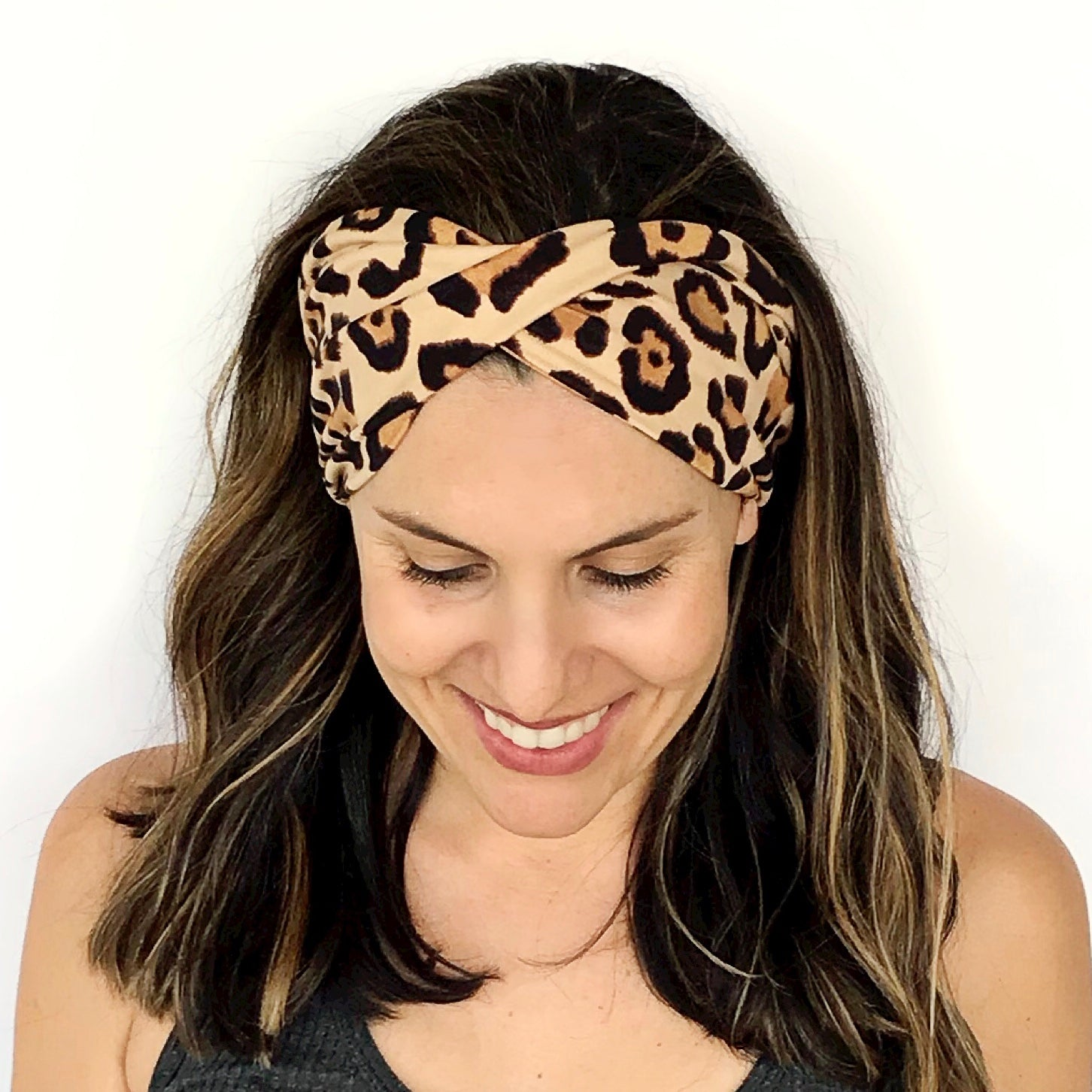 Queen of the Jungle Double Twist Headband