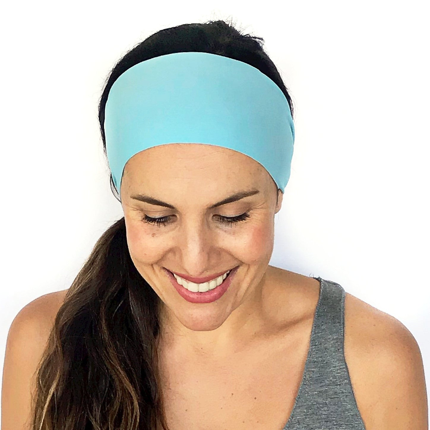 Lightest Blue Workout Headband