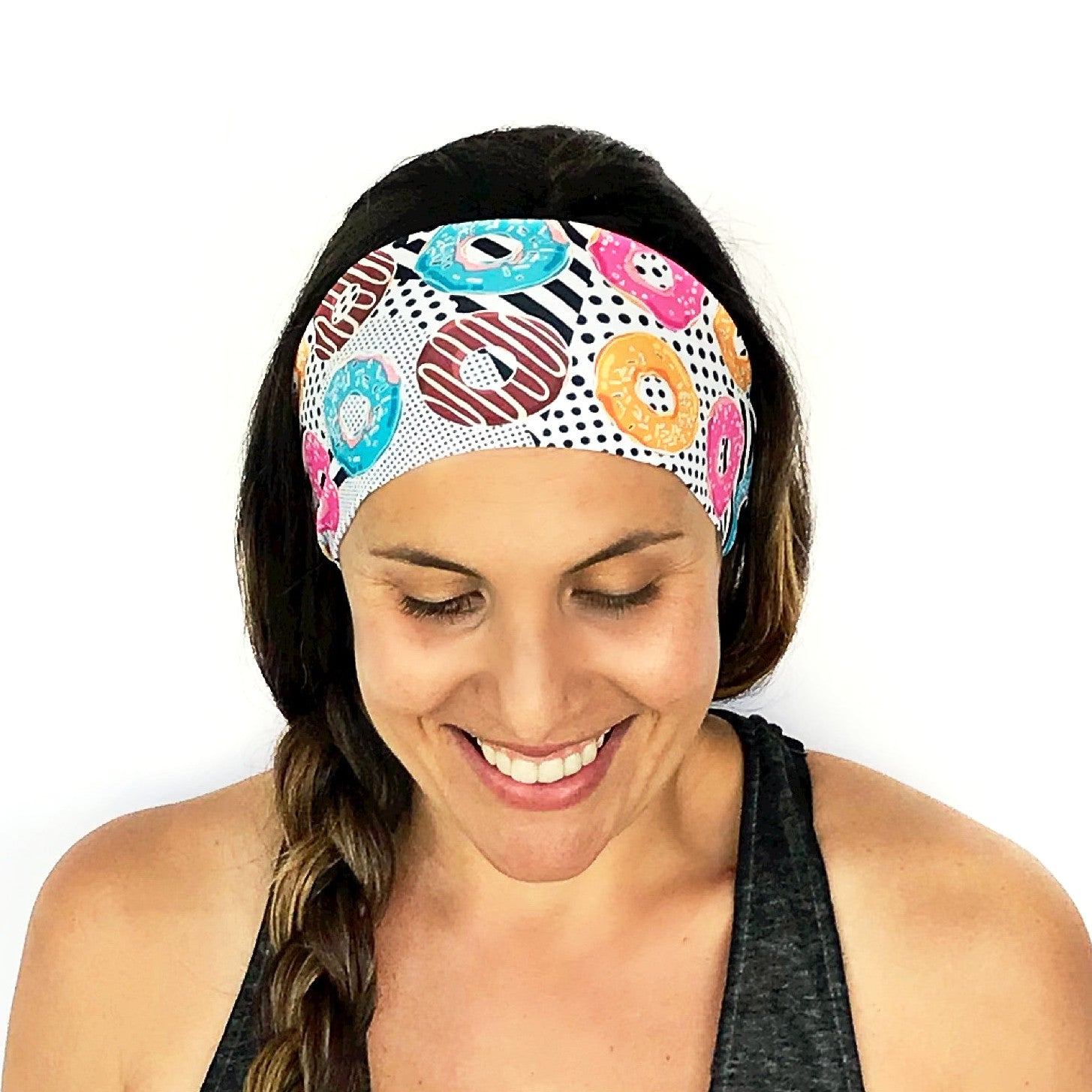 All The Donuts Workout Headband