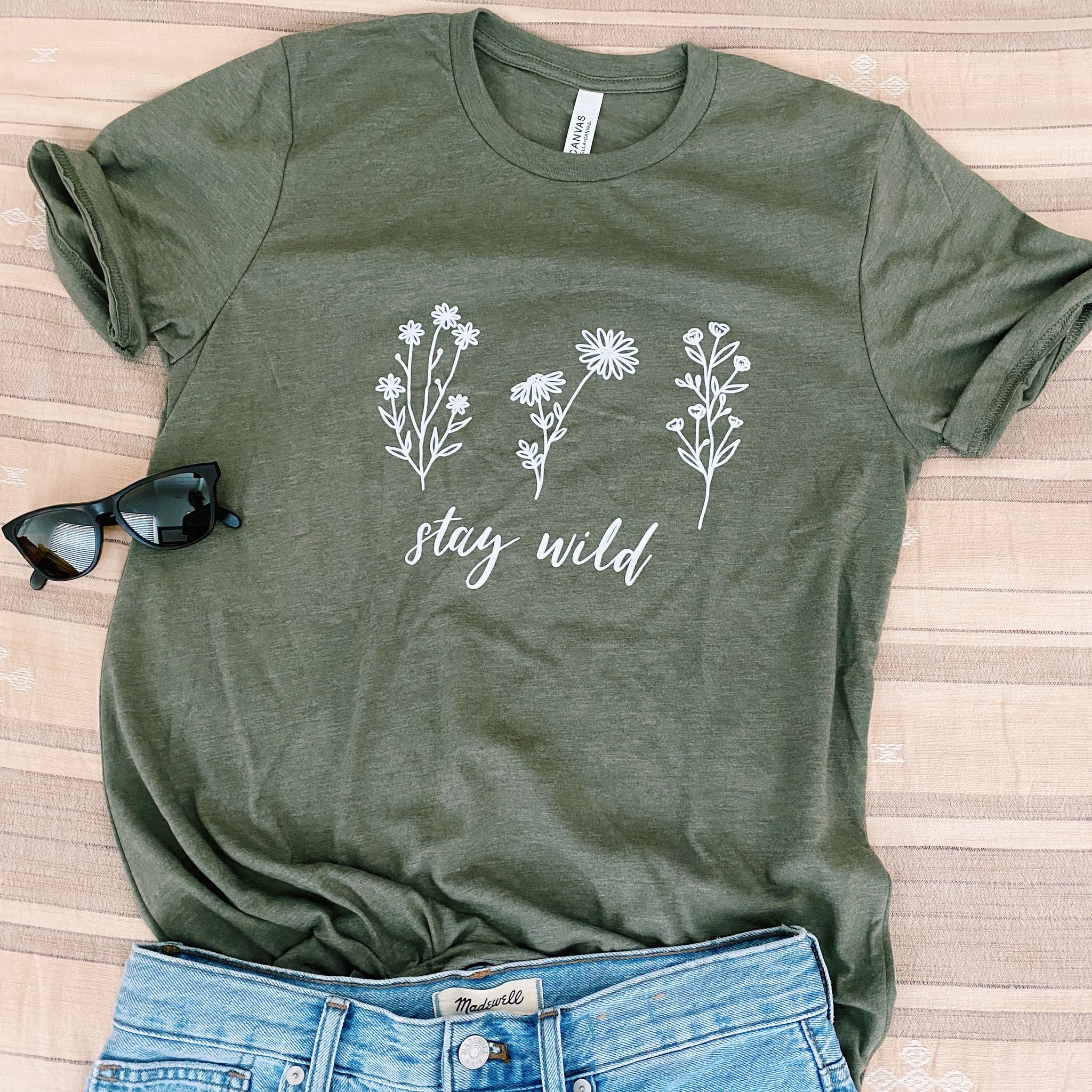 Stay Wild Classic Tee