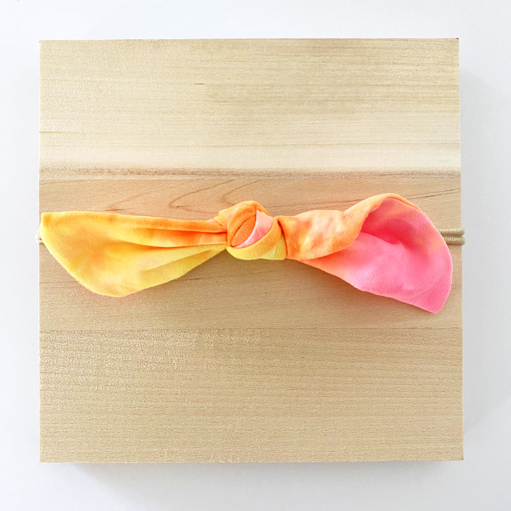 Brightest Tie Dye Knot Headband