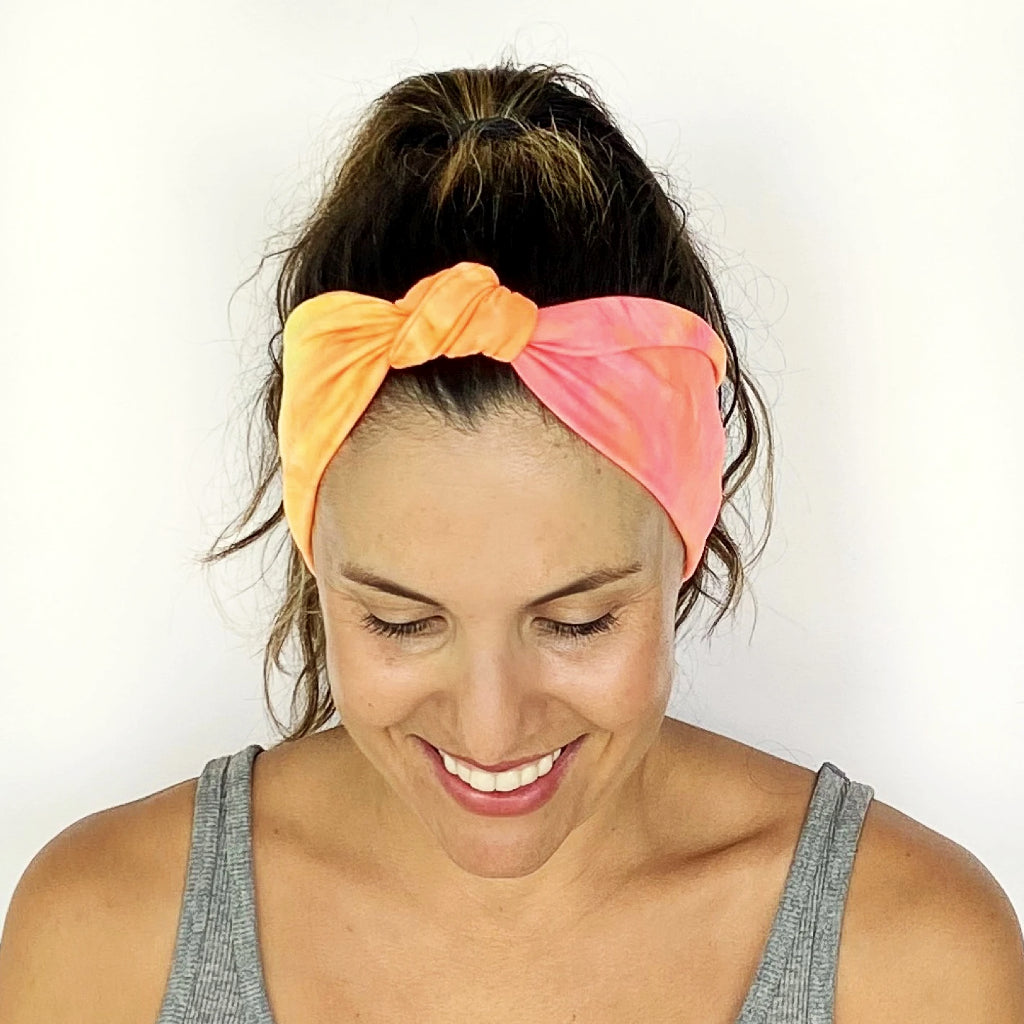 Colorburst Knotted Headband