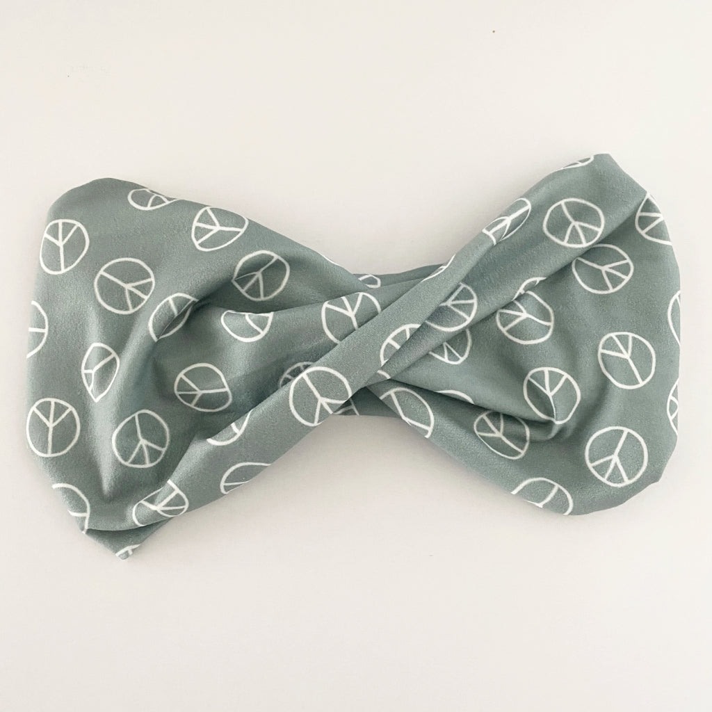 Peace Twist Headband