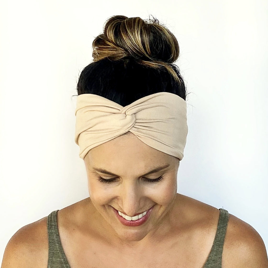 Vanilla Latte Turban Headband