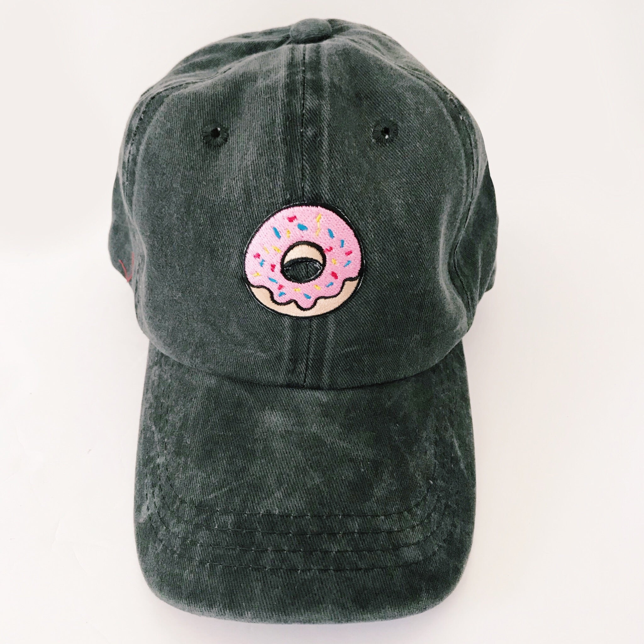 Donut Embroidered Baseball Cap