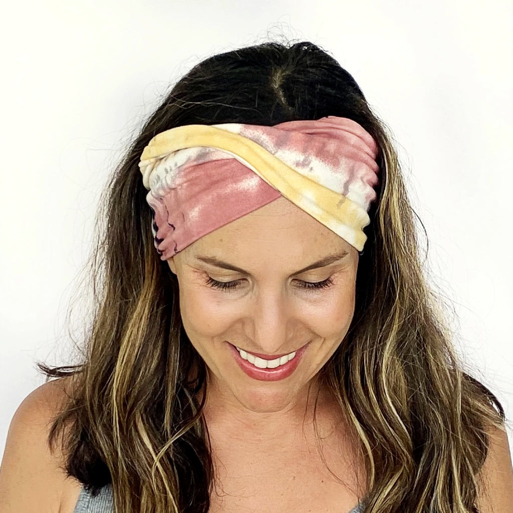 Sorbet Double Twist Headband