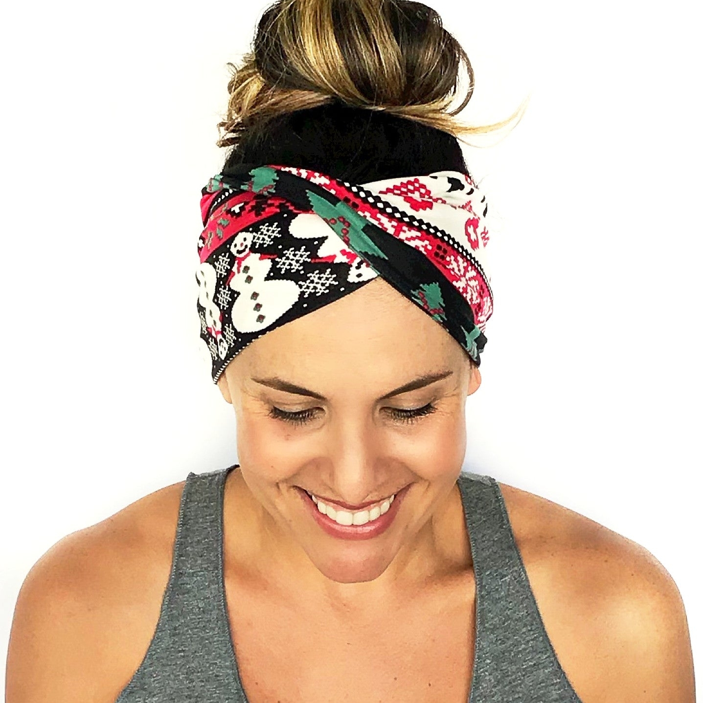 Let It Snow Double Twist Headband