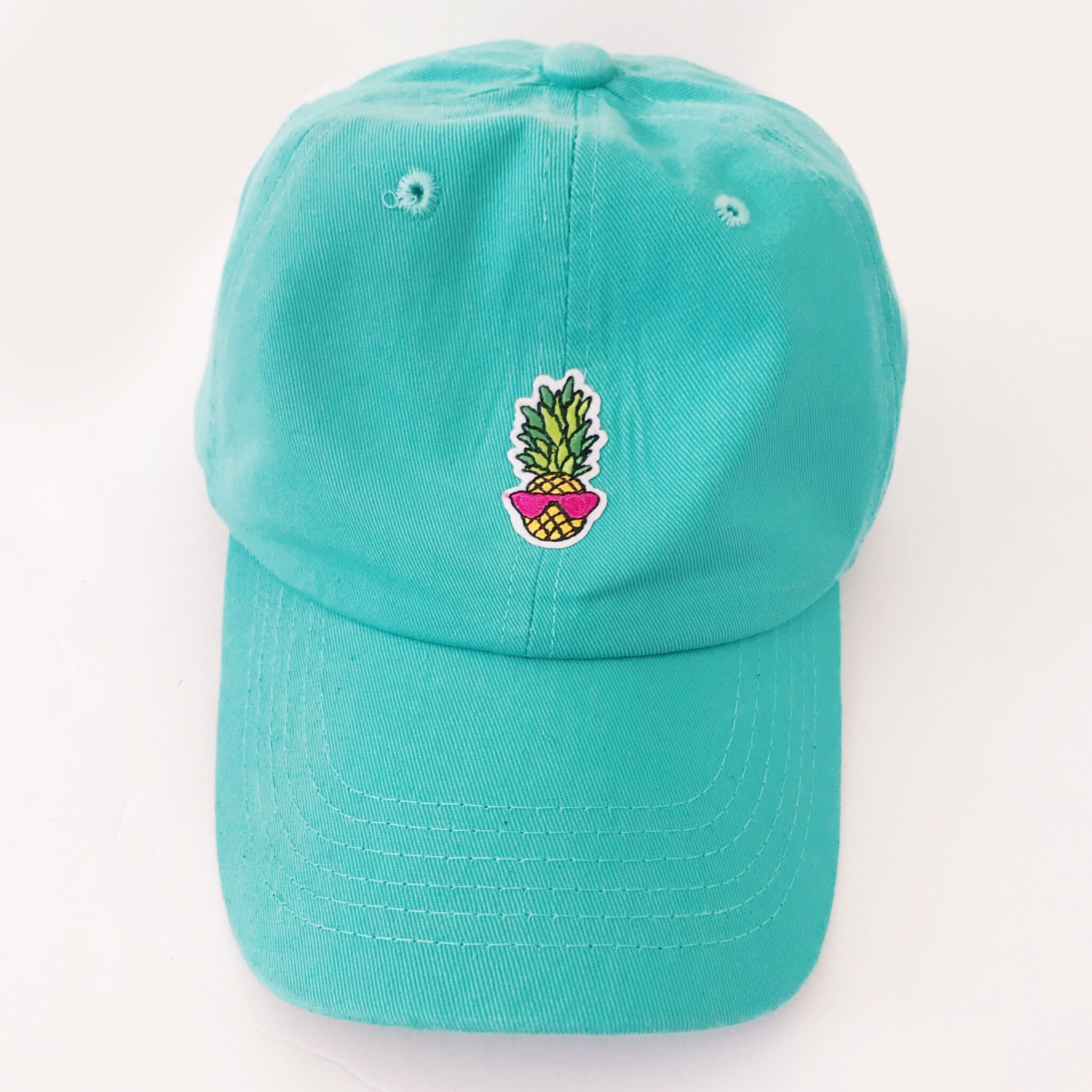 Pineapple Sunnies Embroidered Baseball Cap