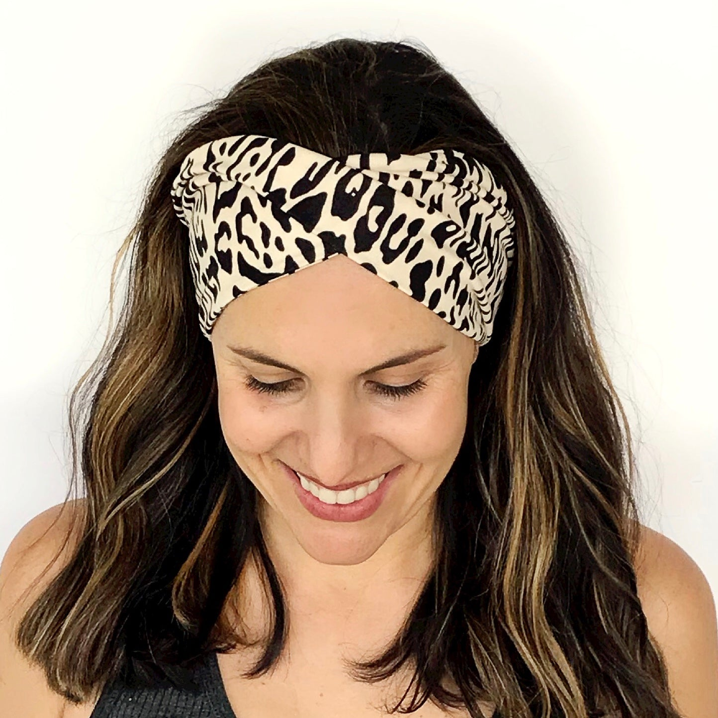 Boho Kitty Double Twist Headband