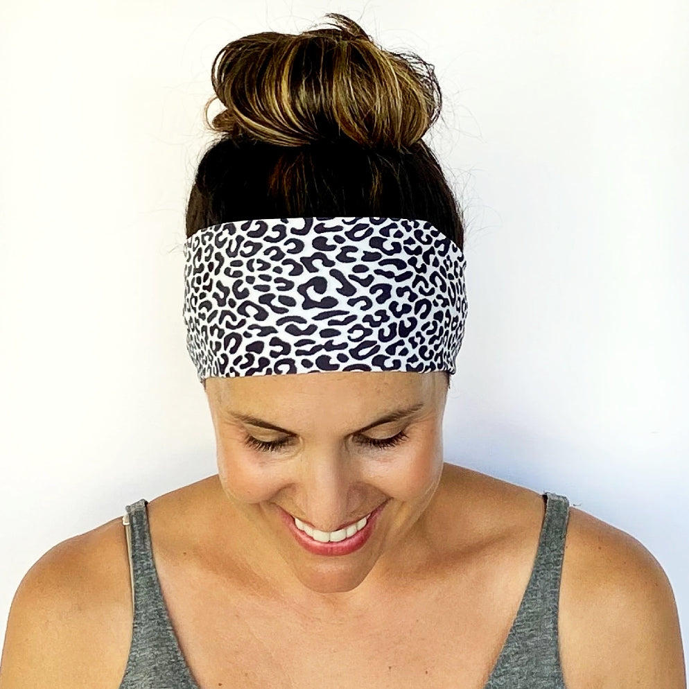Modern Cheetah Workout Headband