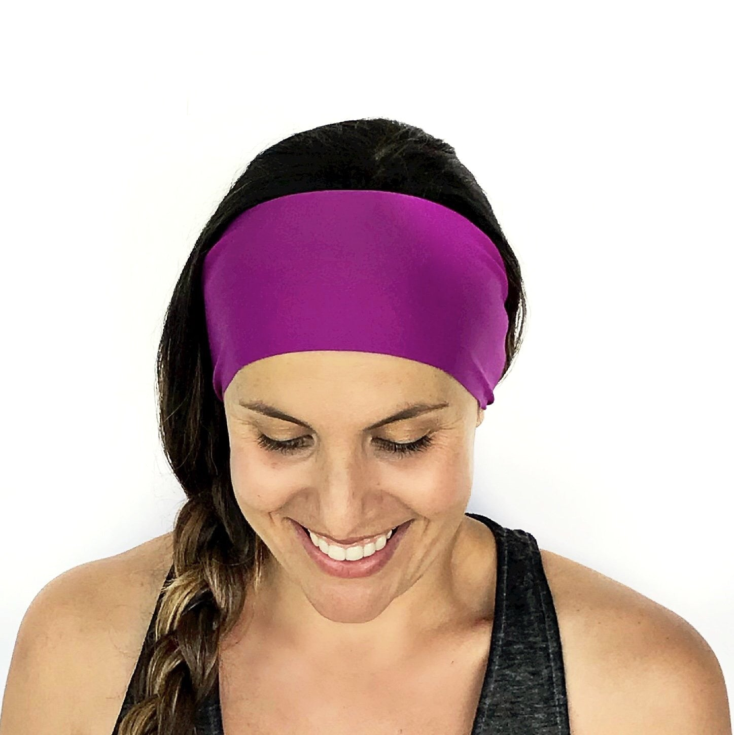 Fuschia Solid Headband