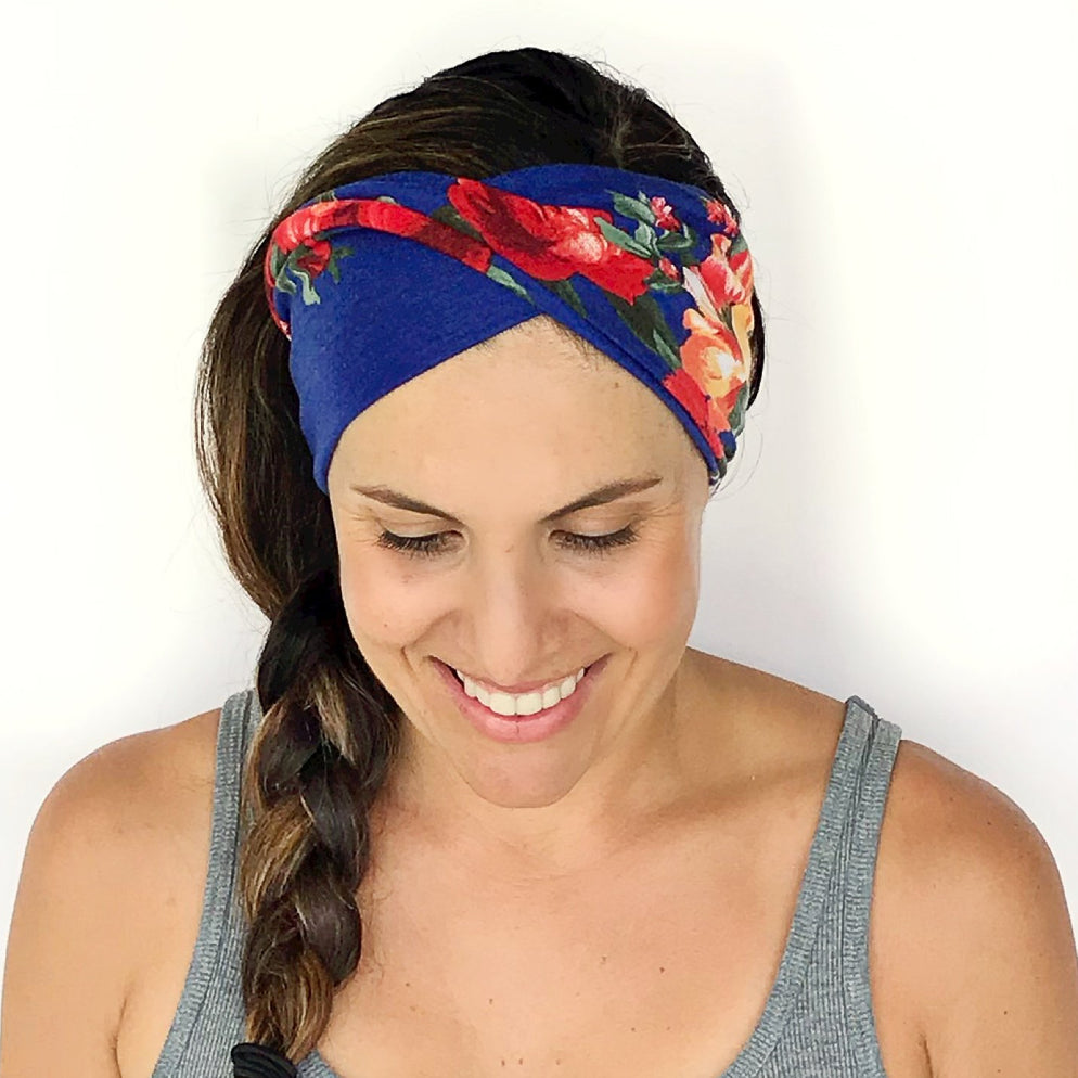 Valencia Double Twist Headband
