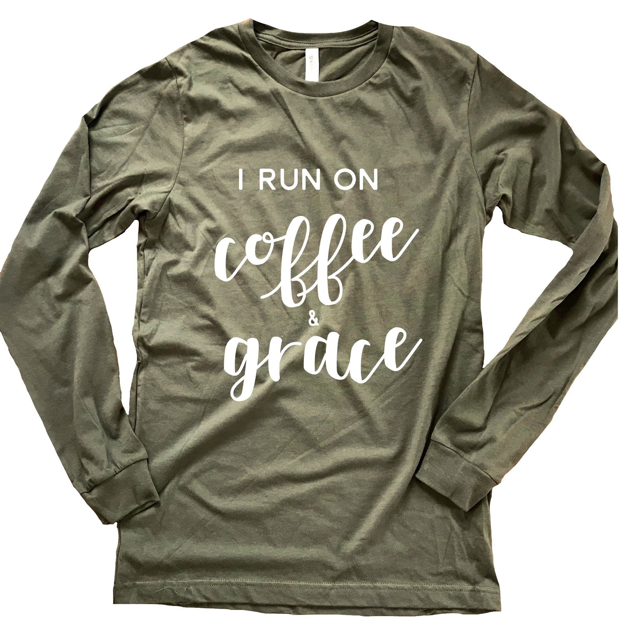 Coffee + Grace Long Sleeve Tee