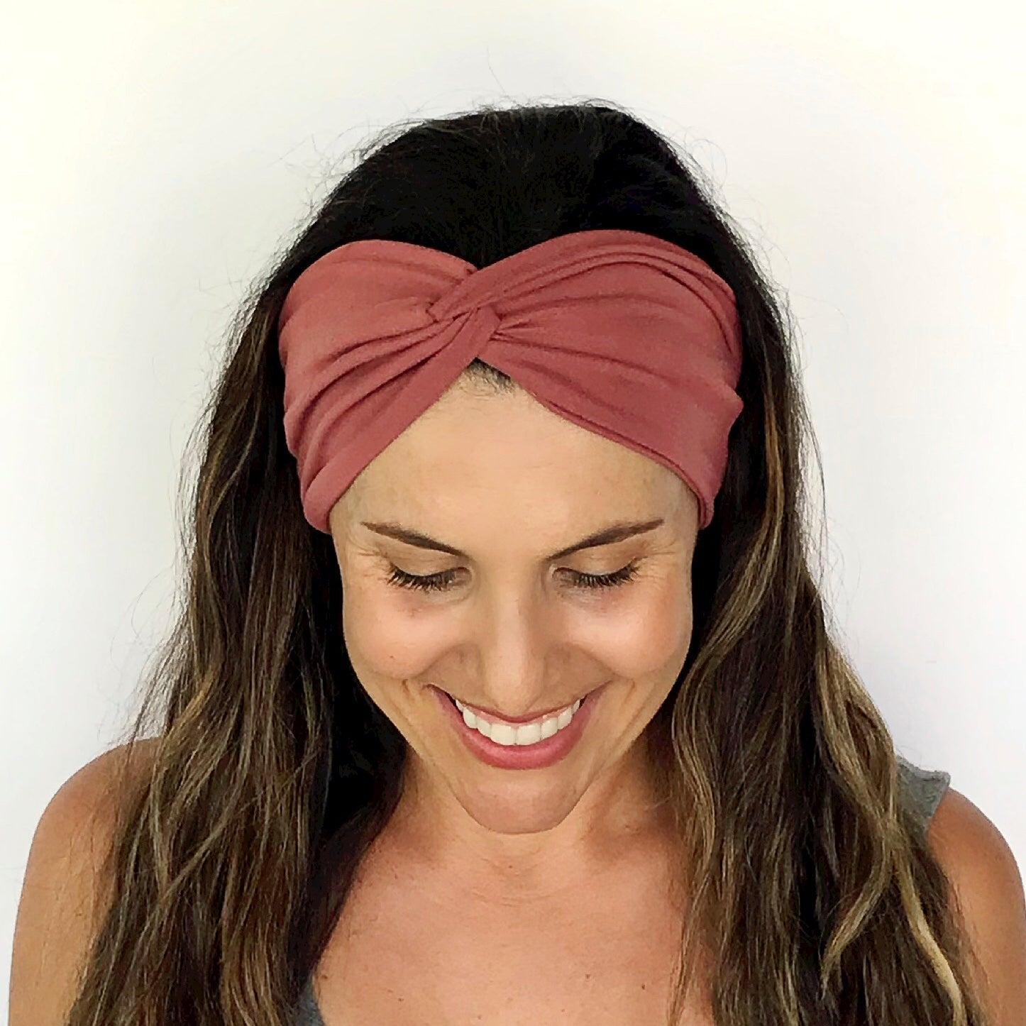 Rouge Twisty Turban Headband