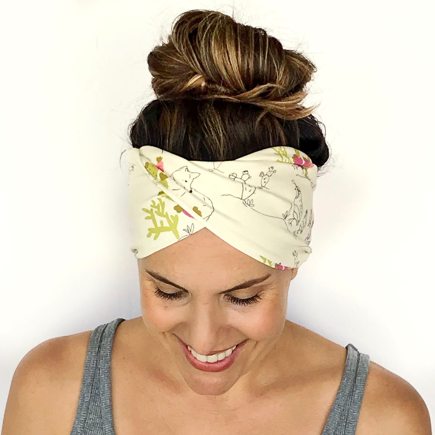 Cactus + Coyote Double Twist Headband