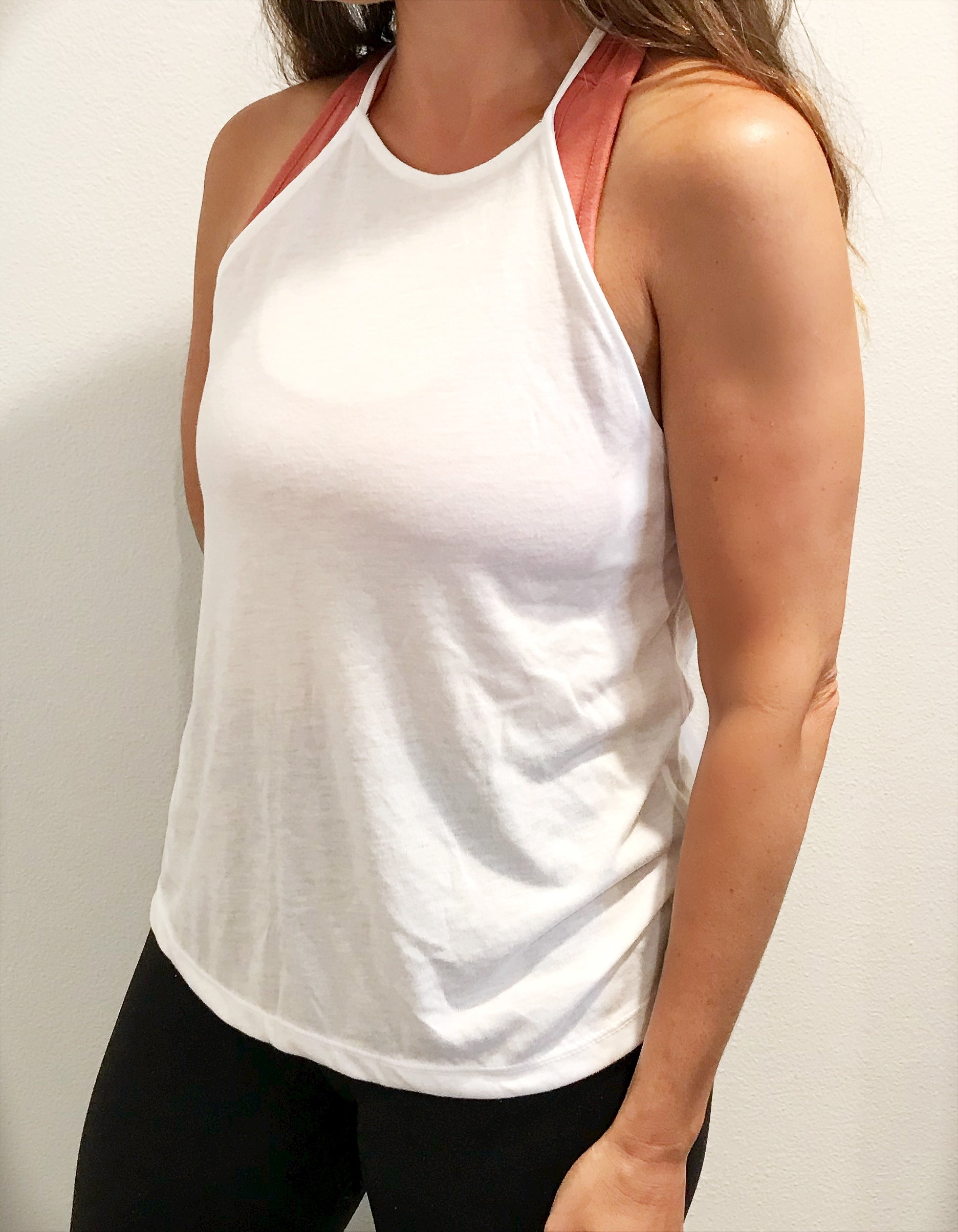 Kind Heart High Neck Tank