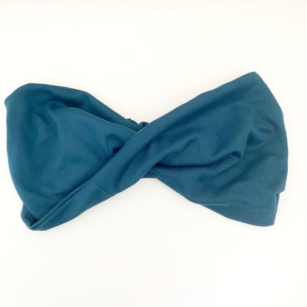 Egyptian Blue Double Twist Headband