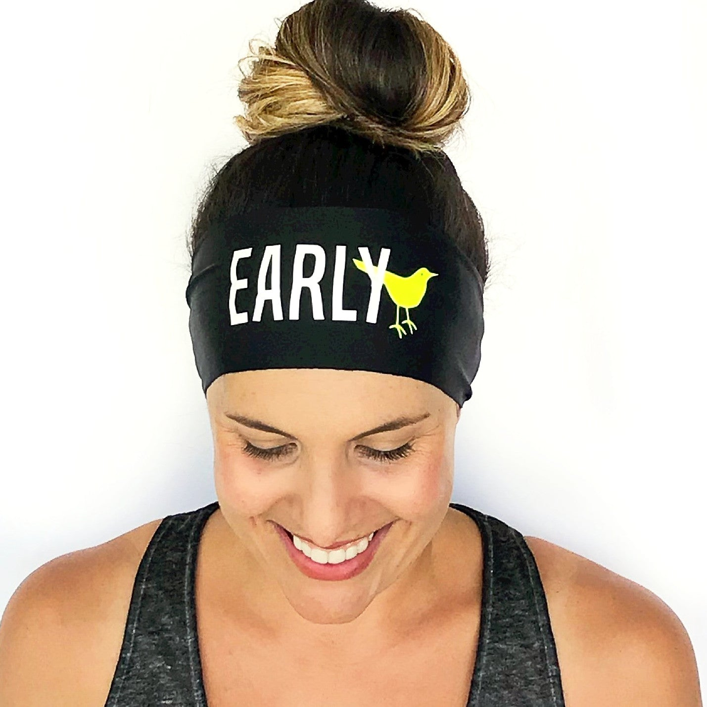 Early Bird Scripted Headband