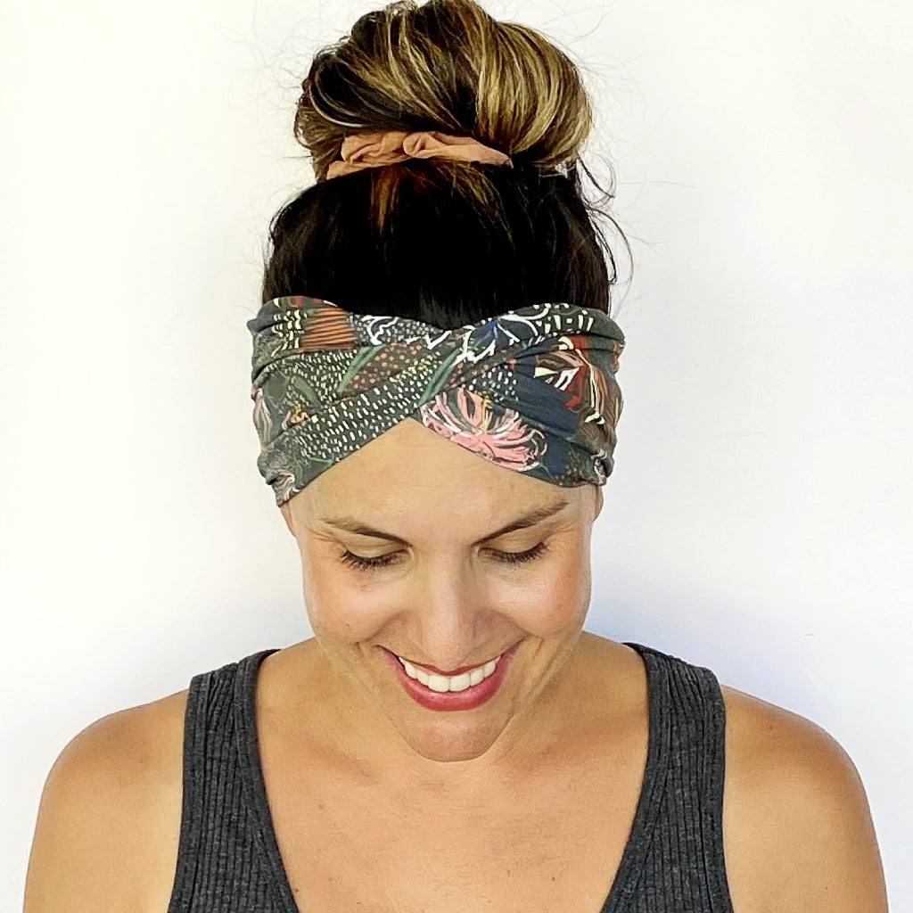 Leila Double Twist Headband