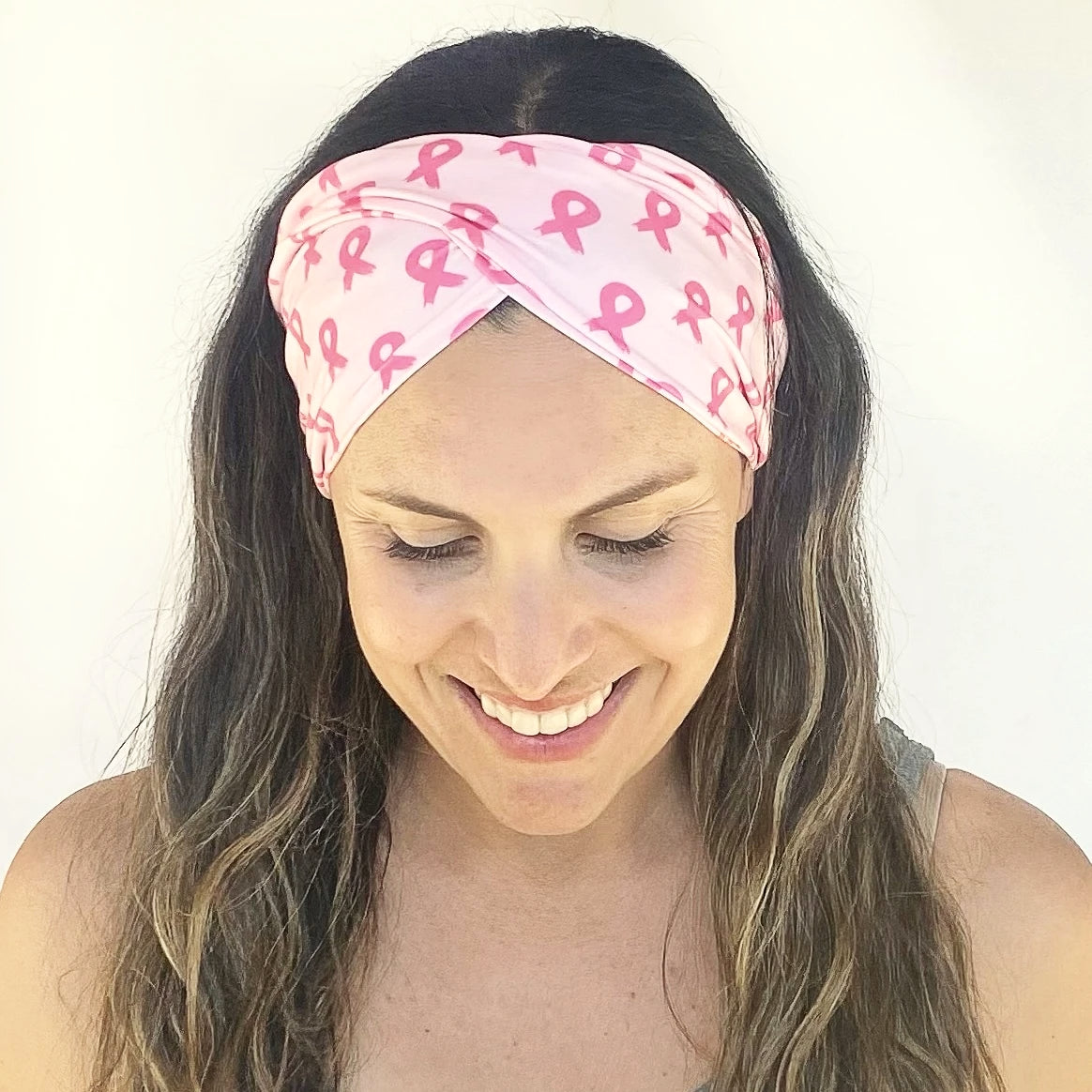 Breast Cancer Twist Headband