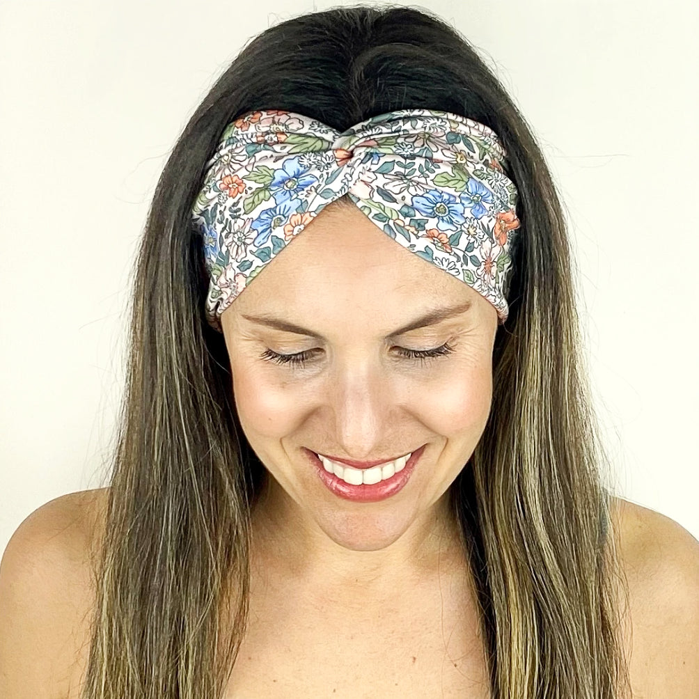 Wildflower Turban Headband
