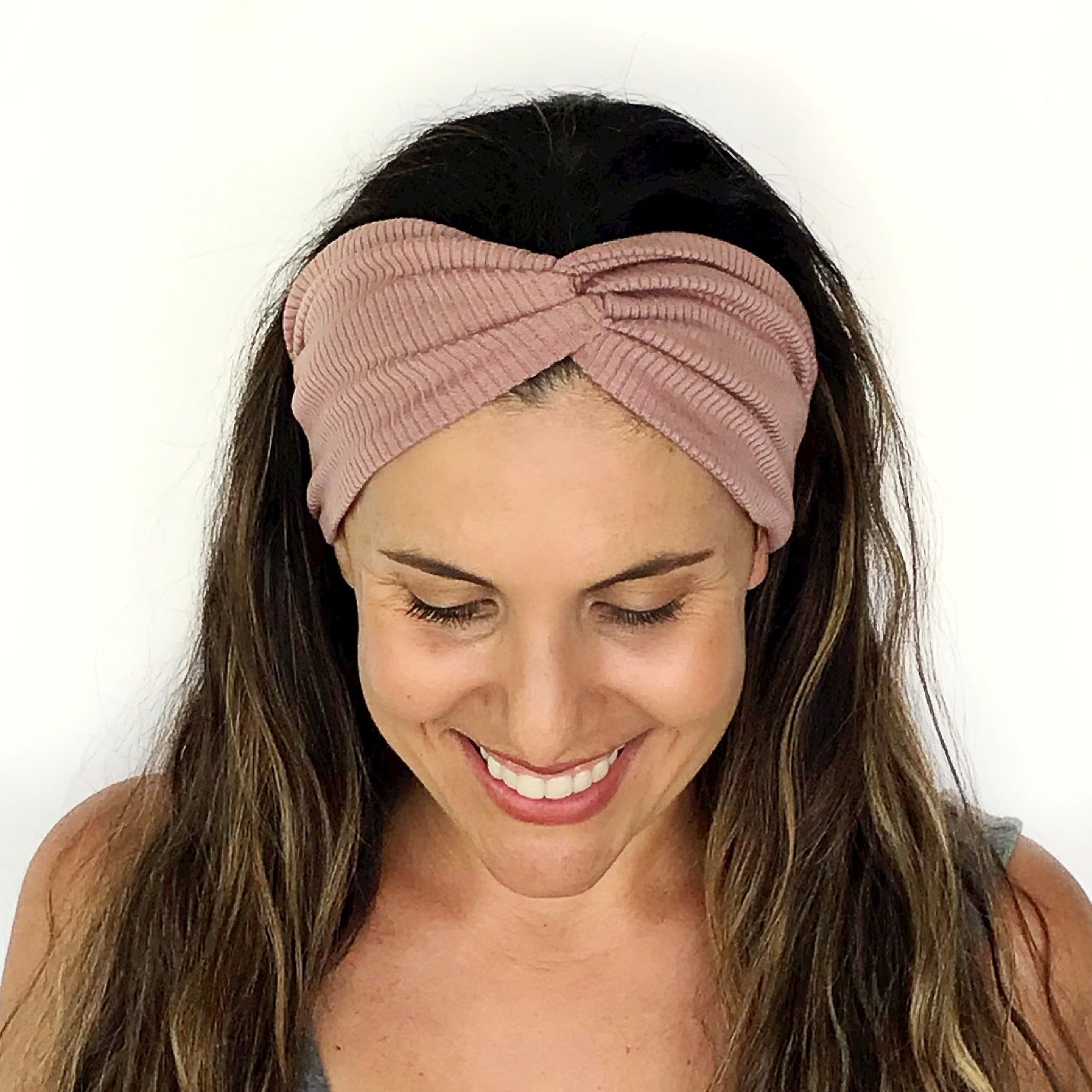Prettiest Mauve Twisty Turban Headband