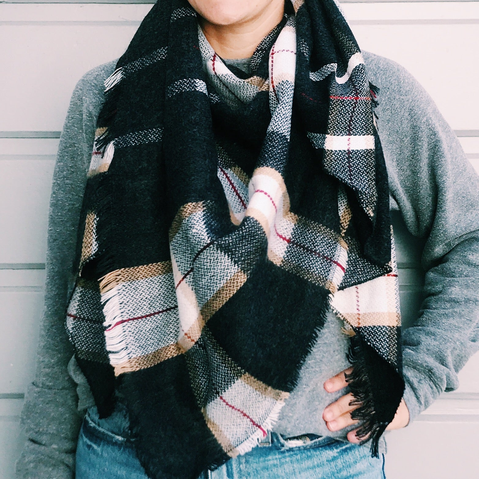 Cozy On Up Scarf