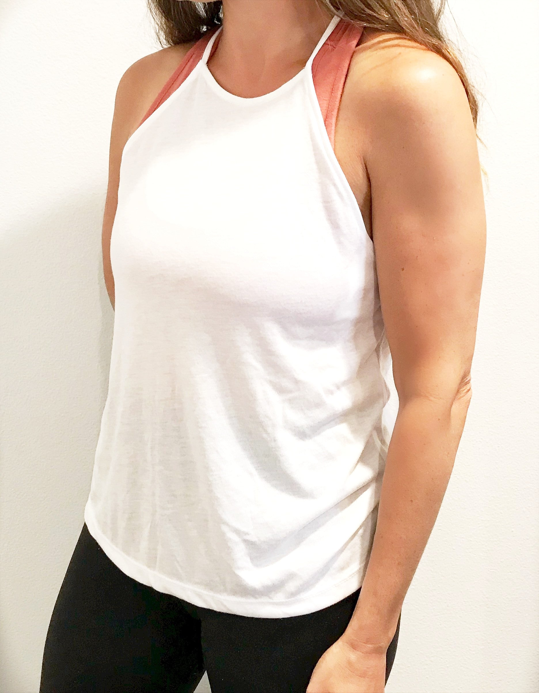 She Is Strong High Neck Tank