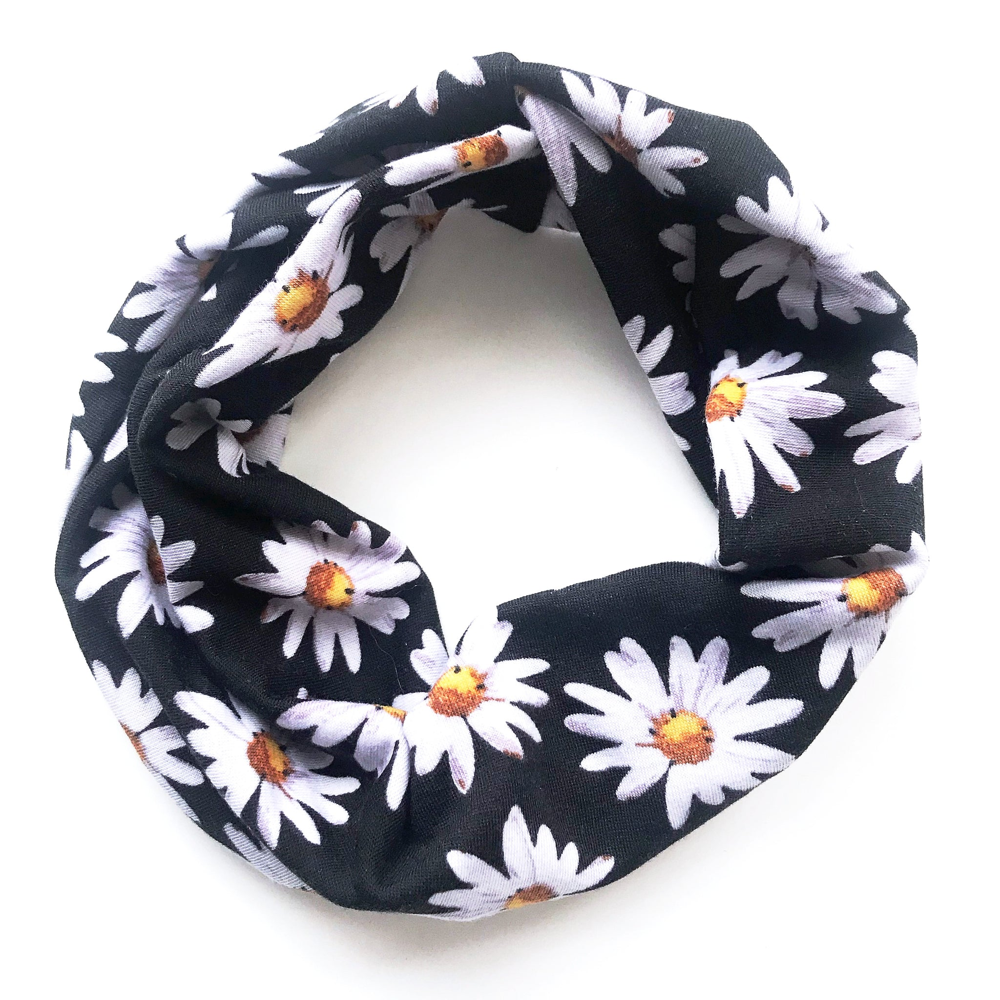 Ditzy Daisy Double Twist Headband