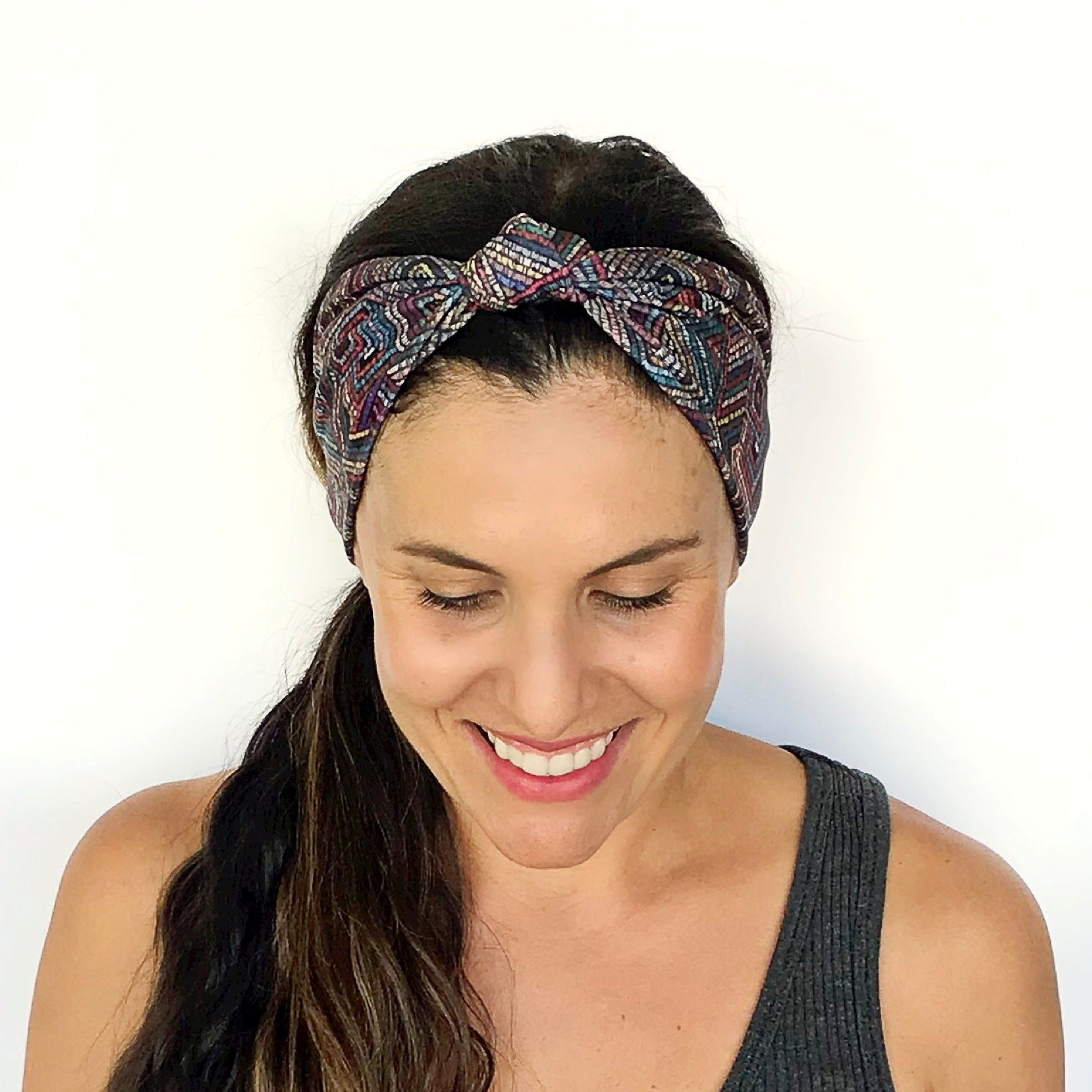All Night Long Knotted Headband