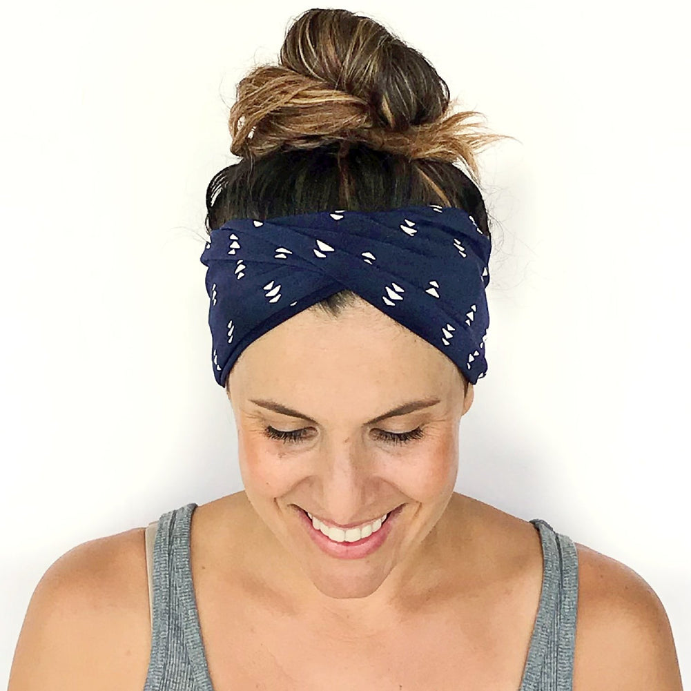 Upward Double Twist Headband