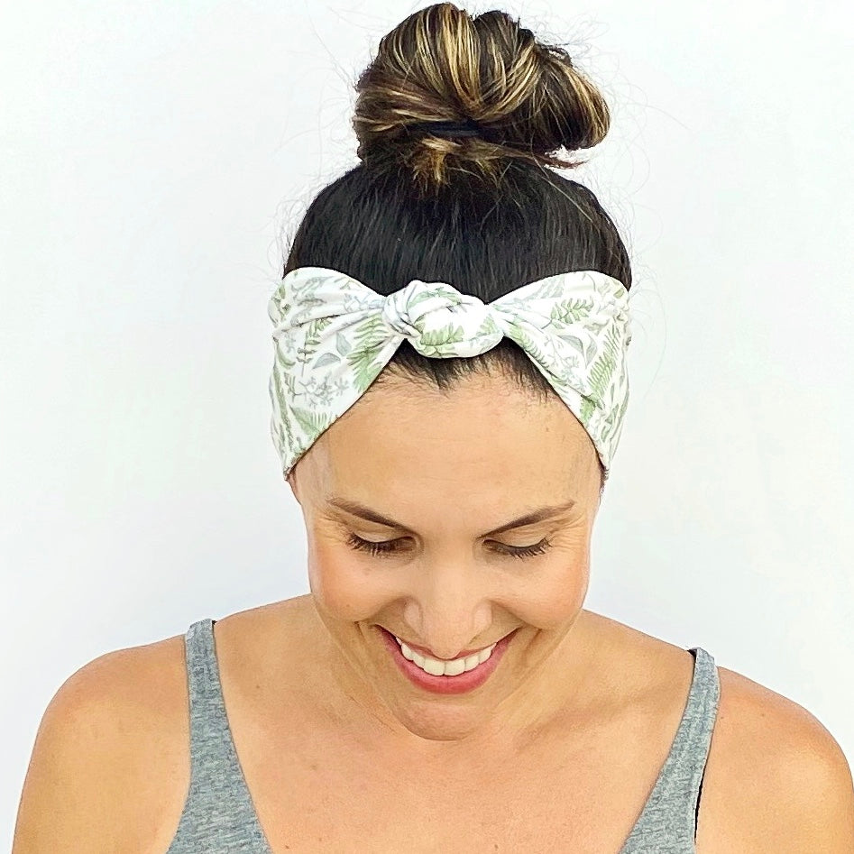 Plant Lover Knotted Headband