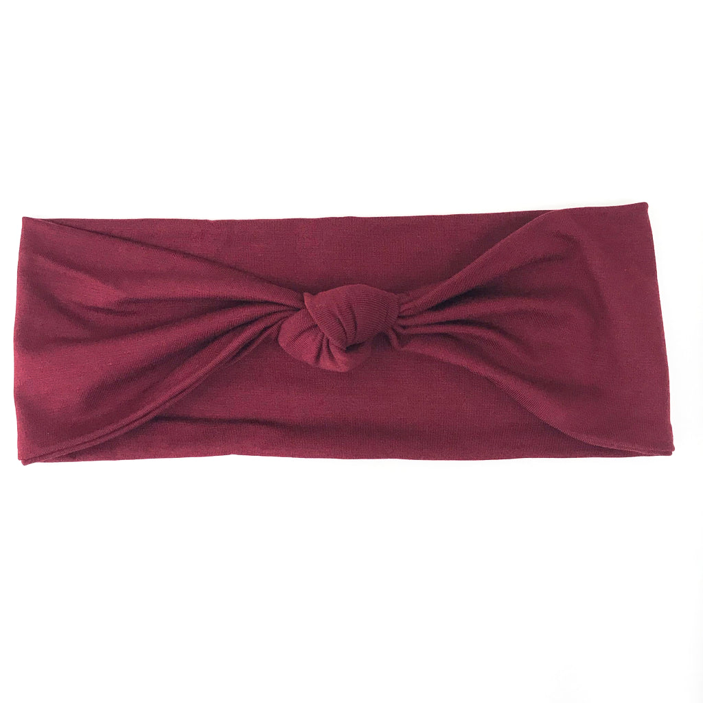 Ruby Knotted Headband