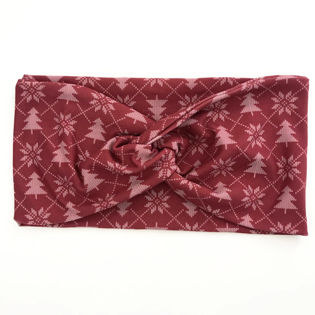 'Tis The Season Twisty Turban Headband
