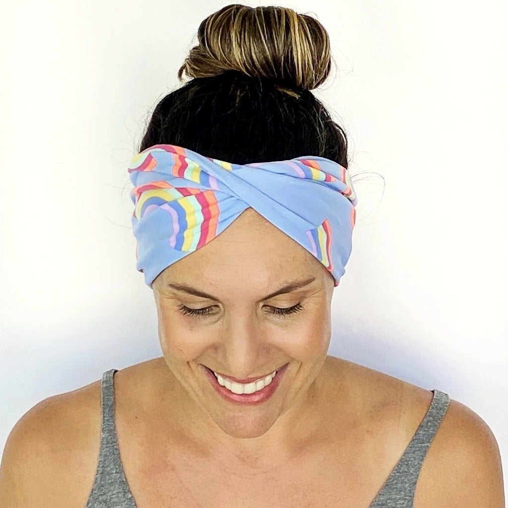 Over The Rainbow Twist Headband