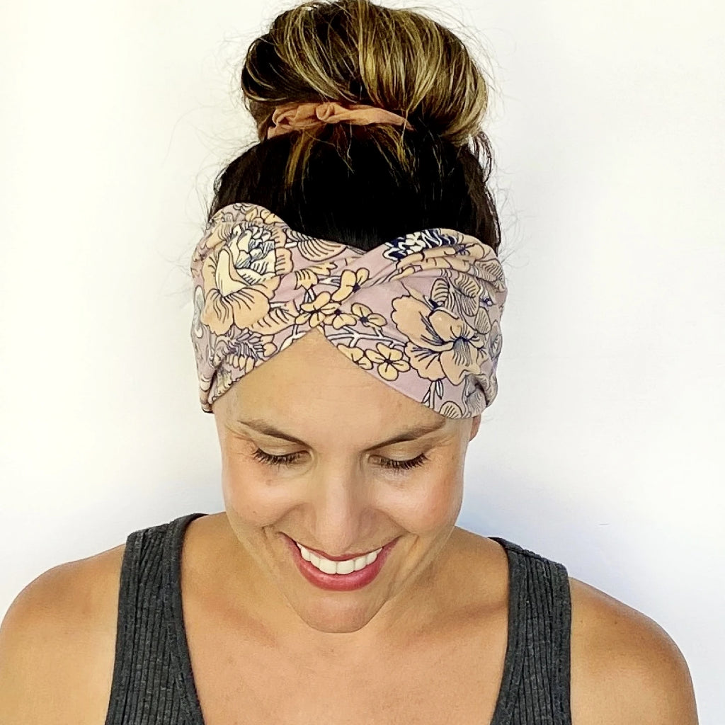 Cassie Double Twist Headband