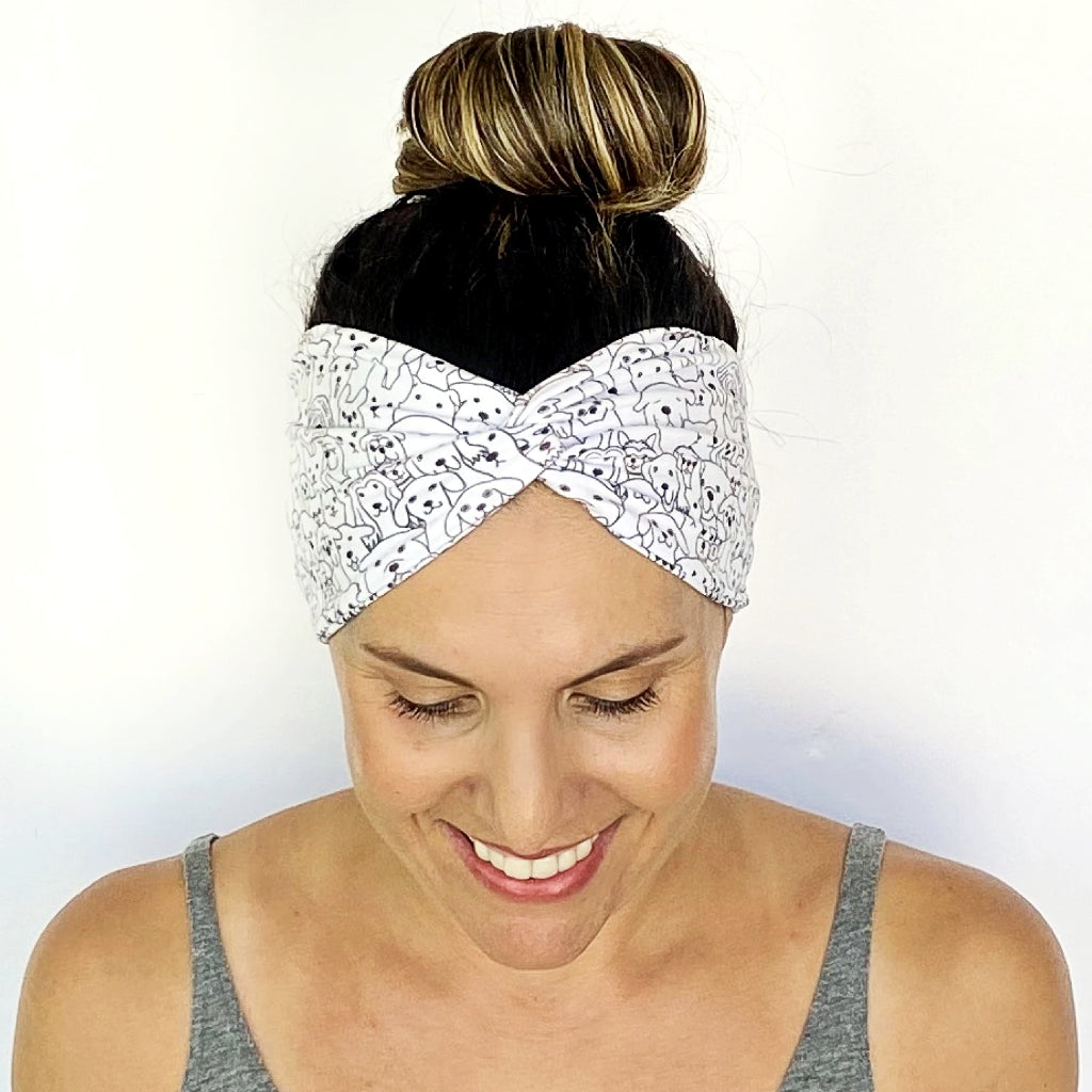 Dog Days Turban Headband